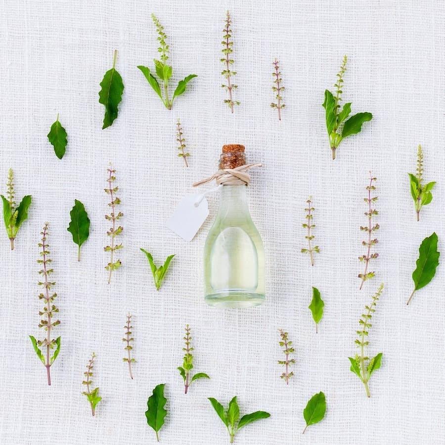 perfumy w kwiatach